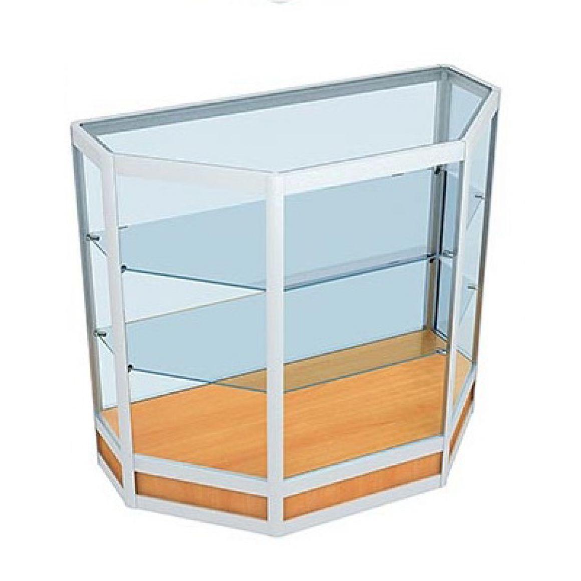 Торговые витрины и прилавки из алюминиевого профиля